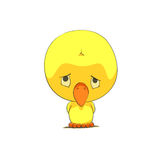 Cute chick character Stock Photography