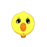 Cute chick character Royalty Free Stock Photography