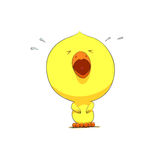 Cute chick character Stock Photo