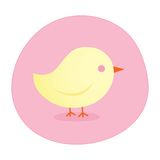 Cute Chick Illustration. Cute Easter Spring Chick Illustration Royalty Free Stock Photography