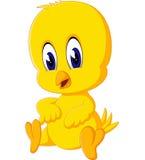 Cute chicken cartoon Stock Image