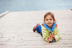 Cute child royalty free stock photography