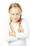 Cute child, funny face Stock Image