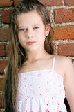 Cute child girl Royalty Free Stock Photos