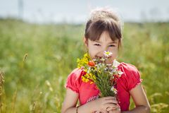Cute child girl Royalty Free Stock Photo