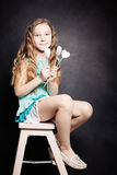 Cute Child Girl. Portrait Royalty Free Stock Photography