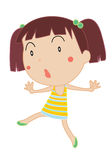 Cute child illustration Royalty Free Stock Image