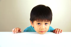 Cute child looking sad Stock Image
