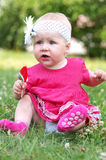 Cute child in the park Stock Photos