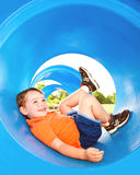 Cute child playing Stock Photos