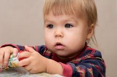 Cute child portrait Royalty Free Stock Photo