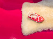 Cute child's slipper Royalty Free Stock Photography