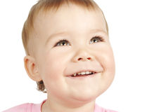 Cute child smile Royalty Free Stock Image