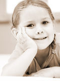 Cute child smiling Royalty Free Stock Photography