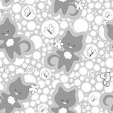 Cute childish seamless pattern Royalty Free Stock Images