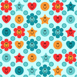 Cute childish seamless pattern Stock Images