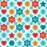 Cute childish seamless pattern Stock Images