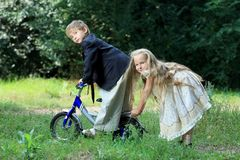 Cute children Stock Photography