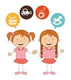 Cute children Stock Image