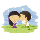 Cute children Royalty Free Stock Image