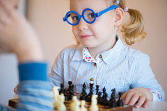 Cute children playing at home Stock Photography