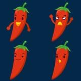 Cute chili Royalty Free Stock Photos