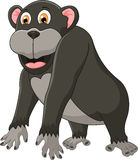 Cute chimpanzee cartoon Royalty Free Stock Photo