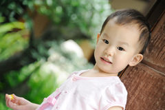 Cute chinese baby Stock Photography