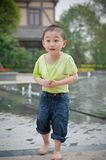Cute chinese boy Stock Photography