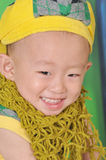 A cute Chinese boy Stock Photography