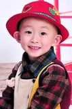 A cute Chinese boy Stock Photos