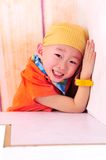 A cute Chinese boy Royalty Free Stock Image