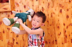 A cute Chinese boy Stock Images