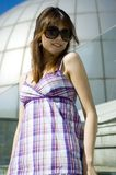 Cute Chinese girl Royalty Free Stock Images