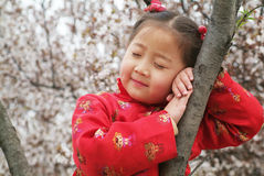 Cute Chinese Girl Stock Photo