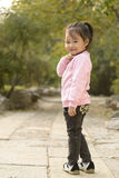 Cute Chinese Girl With Her Smile Royalty Free Stock Images