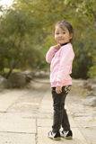 A Cute Chinese Girl Royalty Free Stock Photos