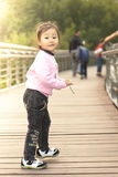 A Cute Chinese Girl Royalty Free Stock Images