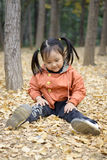 A Cute Chinese Girl Royalty Free Stock Photo