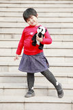 Cute Chinese little girl Royalty Free Stock Photography