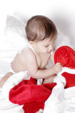 Cute christmas baby Royalty Free Stock Image
