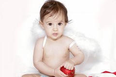 Cute christmas baby Royalty Free Stock Images