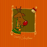 Cute Christmas background Royalty Free Stock Photo