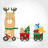 Cute Christmas banner. Royalty Free Stock Images
