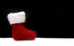 Cute Christmas Boot Royalty Free Stock Photography