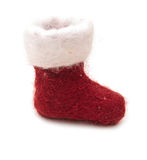 Cute Christmas Boot Royalty Free Stock Images