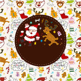 Cute christmas card Stock Photo