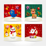 Cute christmas card Stock Image