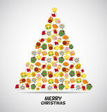 Cute christmas card Royalty Free Stock Image