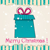 Cute Christmas card Royalty Free Stock Images